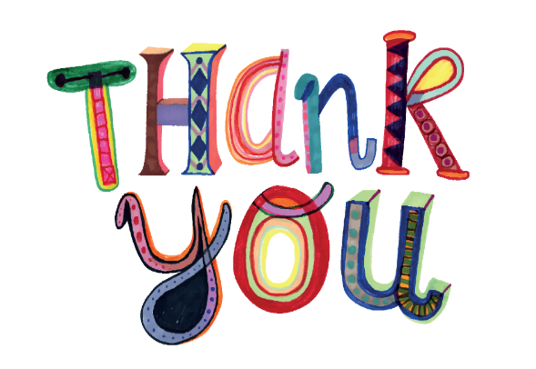 image of thank you graphic