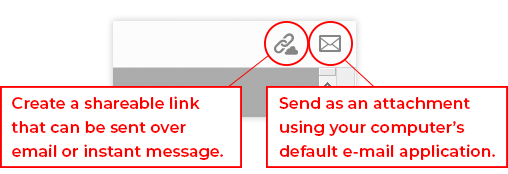 Instructions on how to send pdf forms.